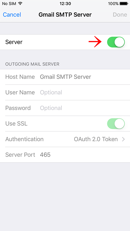 ios setup to use multiple gmail smtp servers hide my ass support rh support hidemyass com Host Name iPhone Cmd Hostname